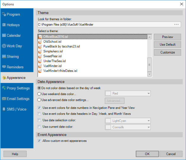 Vueminder Blog What S New In Version 11 3 Office 2016