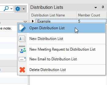 email distribution list